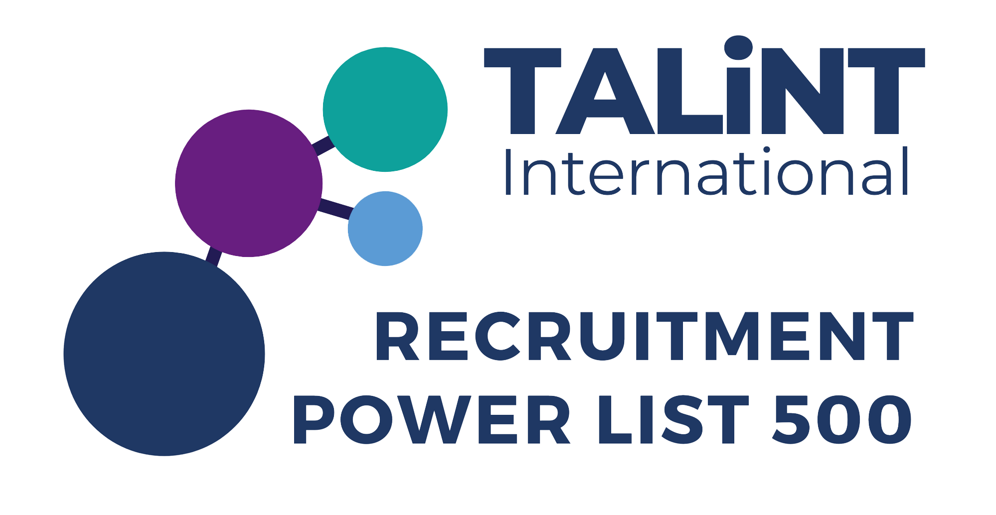 Talint logo - recruitment 500 power list in footer