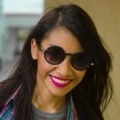 happy young girl wearing glasses -red lipstick - home page thumbnails for testimonials